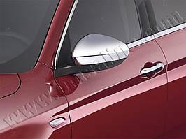 Fiat Tipo 2016↗ рр. Накладки не дзеркала Хром (2 шт., пласт)