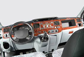 Ford Transit 2000-2014 гг. Накладки на панель (2006↗) Карбон