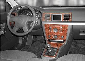 Opel Vectra C 2002↗ рр. Накладки на панель Дерево
