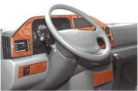 (Tdi, 1995-2000) Накладки на панель (MERIC) Алюминий Mercedes Sprinter 1995-2006 гг.