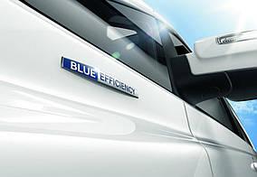 Напис Blue Efficiency Mercedes Citan 2013↗ рр.