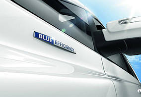 Напис Blue Efficiency Mercedes S-klass W221