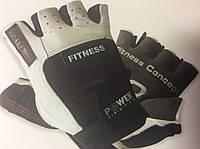 Перчатки для фитнеса мужские FITNESS р. M, L