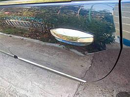 Dacia Lodgy 2013↗ рр. Накладки на ручки (4 шт., нерж.) OmsaLine - Італійська нержавійка