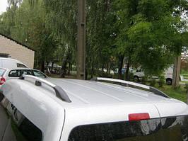 Рейлінги хром Станд. база, Пластикові ніжки Volkswagen Caddy 2015↗ рр.