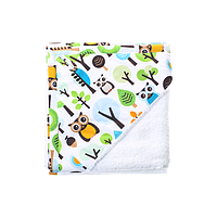 Cotton Living - Детское полотенце уголок Forest Owls Blue