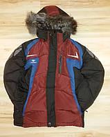 Зимняя куртка для мальчика подростка, 9-11 лет