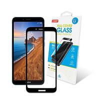 Захисне скло Xiaomi Redmi 7A Full Glue (чорне) GlobalShield