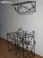 Мебель в прихожую (кованая банкетка и вешалка ) 20