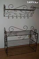 Мебель в прихожую (кованая банкетка и вешалка ) 21