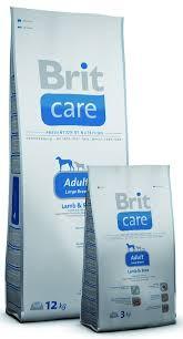 Brit Care Adult Large Breed Lamb&Rice 3 кг для взрослых собак,крупных пород