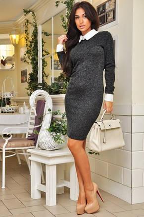 Платье с воротничком ангора, фото 2
