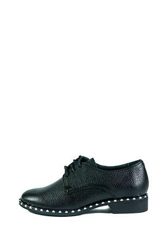 Туфли женские MIDA 210189-16 черные (36), фото 2