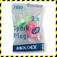 Полипропиленовые универсальные беруши Moldex Spark Plugs.