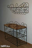 Мебель в прихожую (кованая банкетка и вешалка ) 23