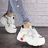 Женские стильные кроссовки Fashion Sabella 1390 40 размер 25 см Белый, фото 2