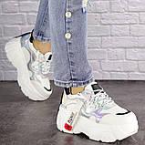 Женские стильные кроссовки Fashion Sabella 1390 40 размер 25 см Белый, фото 3