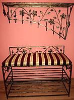Мебель в прихожую (кованая банкетка и вешалка ) 26
