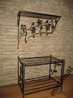 Мебель в прихожую (кованая банкетка и вешалка ) 28