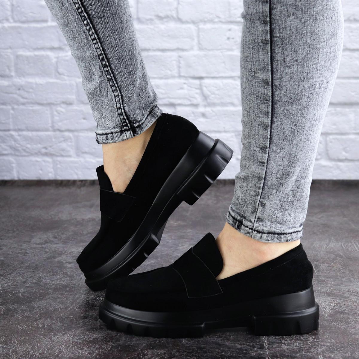 Женские туфли Fashion Sloggo 2031 37 размер 24 см Черный