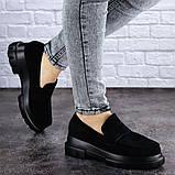 Женские туфли Fashion Sloggo 2031 37 размер 24 см Черный, фото 6