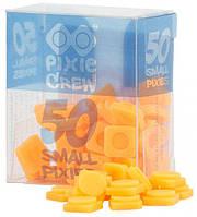 Пиксели силиконовые оранжевый неон (50 шт) Pixie Crew  PXP-01-03