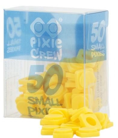 Пиксели силиконовые желтые (50 шт) Pixie Crew  PXP-01-04