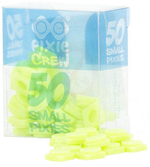 Пиксели силиконовые светло-зеленые (50 шт) Pixie Crew  PXP-01-06