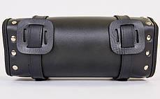 Мотосумки (1 кофр) HARLEY DAVIDSON H14 (PL, р-р 30х12х9см, чорний), фото 3
