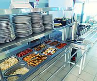Организация столовых, кафетериев, буфетов