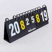 Табло перекидное для игр MIKASA C-0816 (2х2, складное р-р 70x24см), фото 3