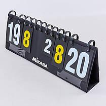 Табло перекидное для игр MIKASA C-0816 (2х2, складное р-р 70x24см), фото 2
