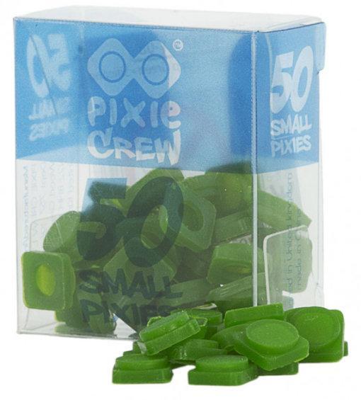 Пиксели силиконовые темно-зеленые (50 шт) Pixie Crew  PXP-01-08