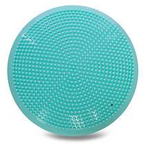 Подушка балансировочная массажная FI-1589 BALANCE CUSHION (PVC, d-33см, 900гр, цвета в ассортименте), фото 3