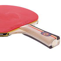 Ракетка для настільного тенісу 1 штука STIGA SGA-179001 SPIRIT 1* (деревина, гума), фото 2