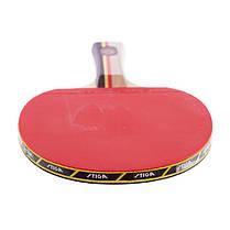 Ракетка для настільного тенісу 1 штука STIGA SGA-179001 SPIRIT 1* (деревина, гума), фото 3