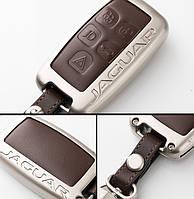 Металлический чехол для ключа Jaguar E-Pace,F-Pace,F-Type,I-Pace,XE, XF,XFR,XFR-S,XJ,XK,XKR,XKR-S,X-TYPE