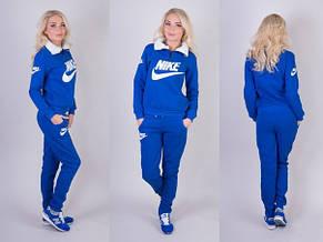 Женский спортивный костюм Nike с начесом норма и батал, фото 3