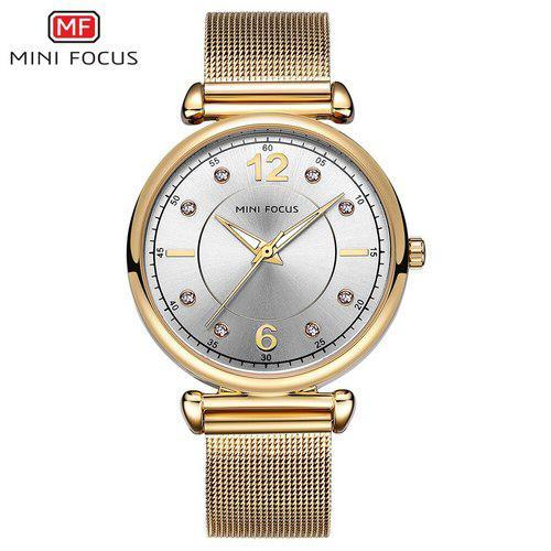 Mini Focus MF0177L.01 Gold-Silver Diamonds ABR-1095-0083