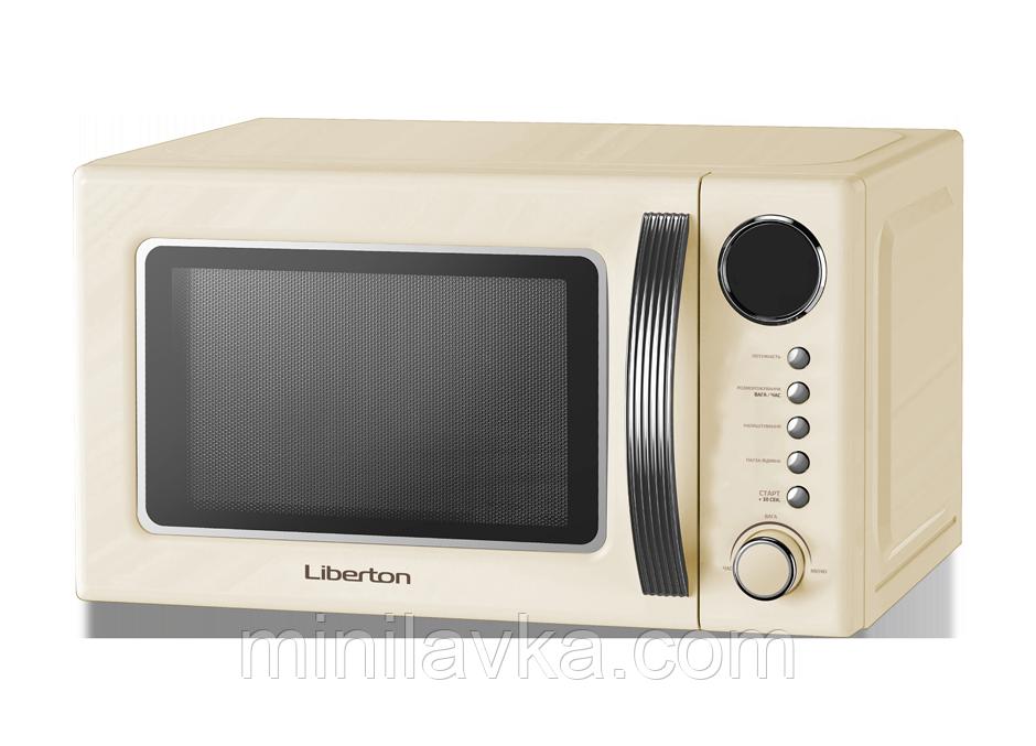 Мікрохвильова піч Liberton LMW-2083E Ivory 20 л, 700 Вт