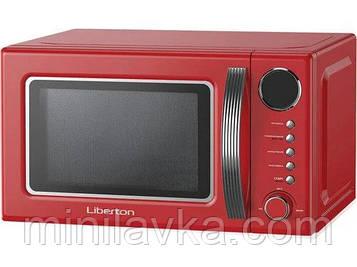 Мікрохвильова піч Liberton LMW-2083E Red 20 л, 700 Вт