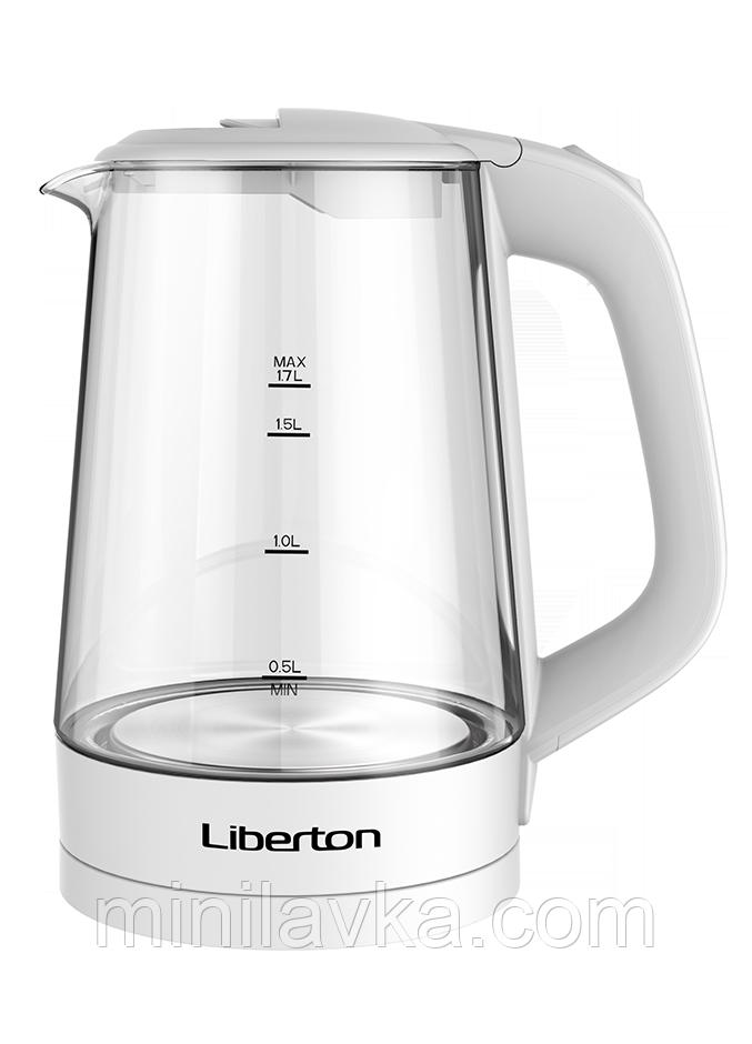 Электрочайник Liberton LEK-1712 - 1,7 л, 2000 Вт