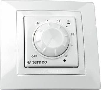 Терморегулятор для обогревателя TERNEO ROL белый (16A, 3 kW) ― купить недорого в интернет-магазине ventsmart.com.ua