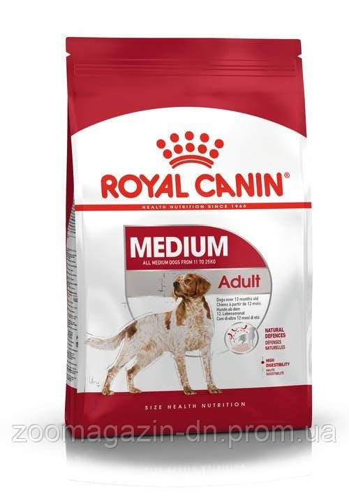 Royal Canin Medium Adult  для взрослых собак средних размеров 15 кг