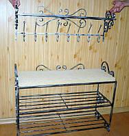 Мебель в прихожую (кованая банкетка и вешалка ) 38