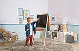 Двосторонній дерев'яний мольберт Smoby Toys Весела навчання 50х55х120 см (410400), фото 7