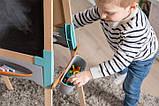 Двосторонній дерев'яний мольберт Smoby Toys Весела навчання 50х55х120 см (410400), фото 8