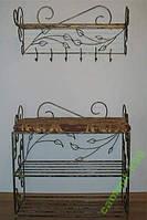 Мебель в прихожую (кованая банкетка и вешалка ) 39