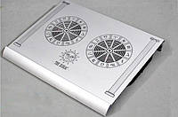 Подставка-кулер для ноутбука алюминиевая The zodiac  *1325