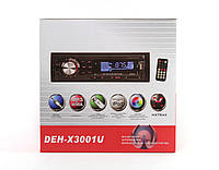 Автомагнитола DEH-X3001U - USB+SD+FM+AUX с евроразъемом+USB+пульт ДУ